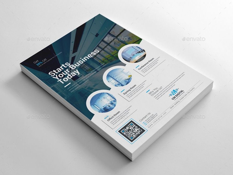 eye catching flyer templates