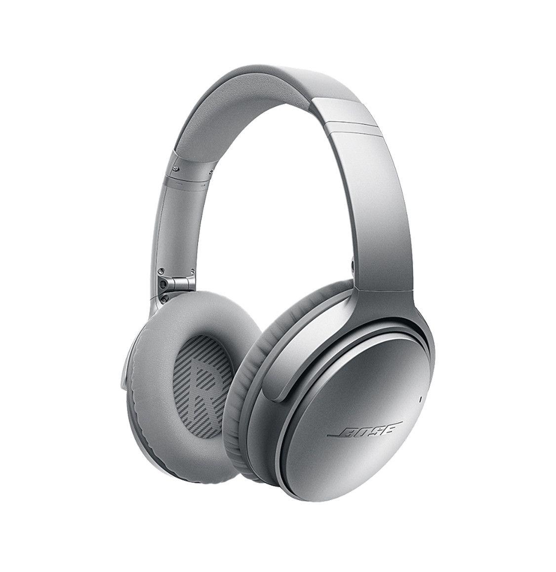 Bose Quiet Comfort Qc 35 Wireless Headphones Silver Wireless Headphones Headphones Bluetooth Noise Cancelling Headphones