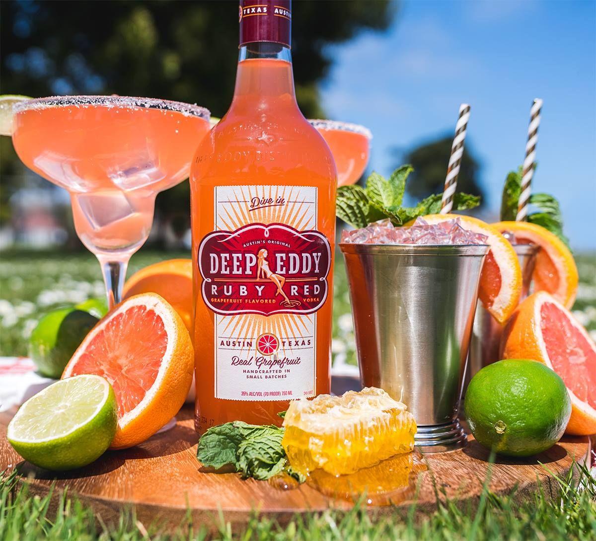 Ruby Red Margarita 1 Oz. Deep Eddy Ruby Red Vodka 1 Oz