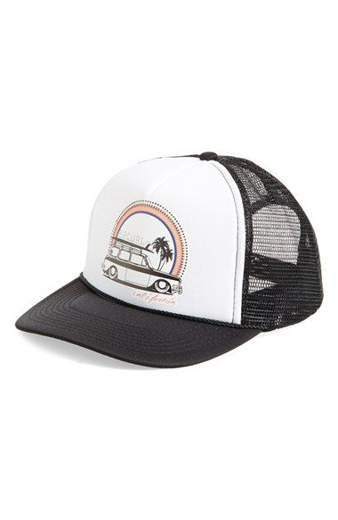 Rip Curl  Surf Check  Trucker Hat available at  Nordstrom  2575157bea5e