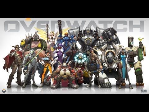 Overwatch Blizzard All Classes Gameplay Blizzards New Game All