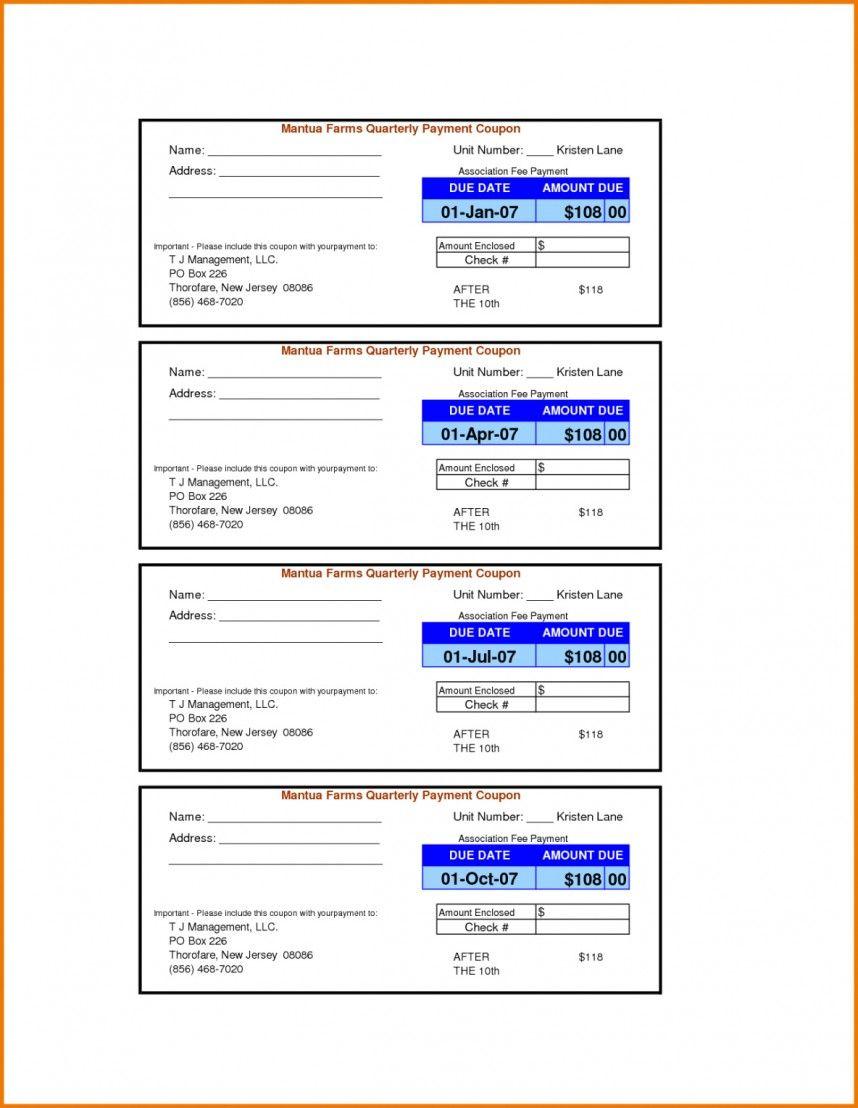 Wonderful Payment Coupon Book Template Ideas Free Loan Regarding Coupon Book Template Word Best Sample Template Coupon Template Book Template Coupon Book