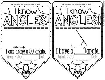 Angles Pennant for classifying, measuring and drawing