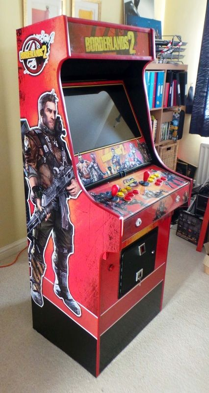 totally custom borderlands 2 arcade cabinet by steve hunt ceo of cold beam games gaming and. Black Bedroom Furniture Sets. Home Design Ideas