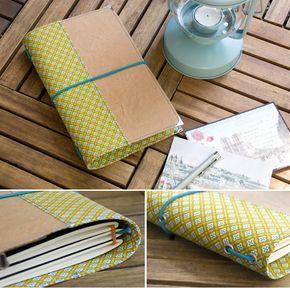 diy anleitung reisetagebuch aus snappap n hen pinterest travelers notebook bullet. Black Bedroom Furniture Sets. Home Design Ideas