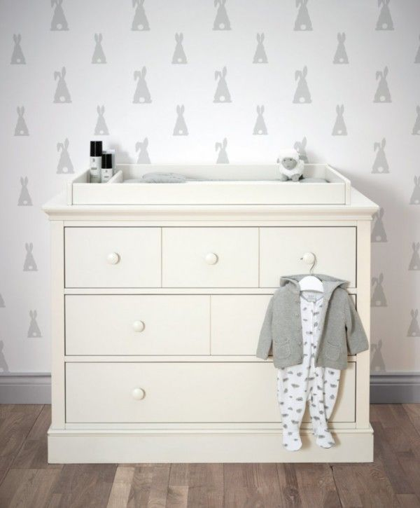 Oxford Dresser Changer Pearl White With Images Baby