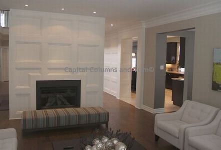 Full Wall Wainscoting Fireplace Surround Wainscotting In 2019