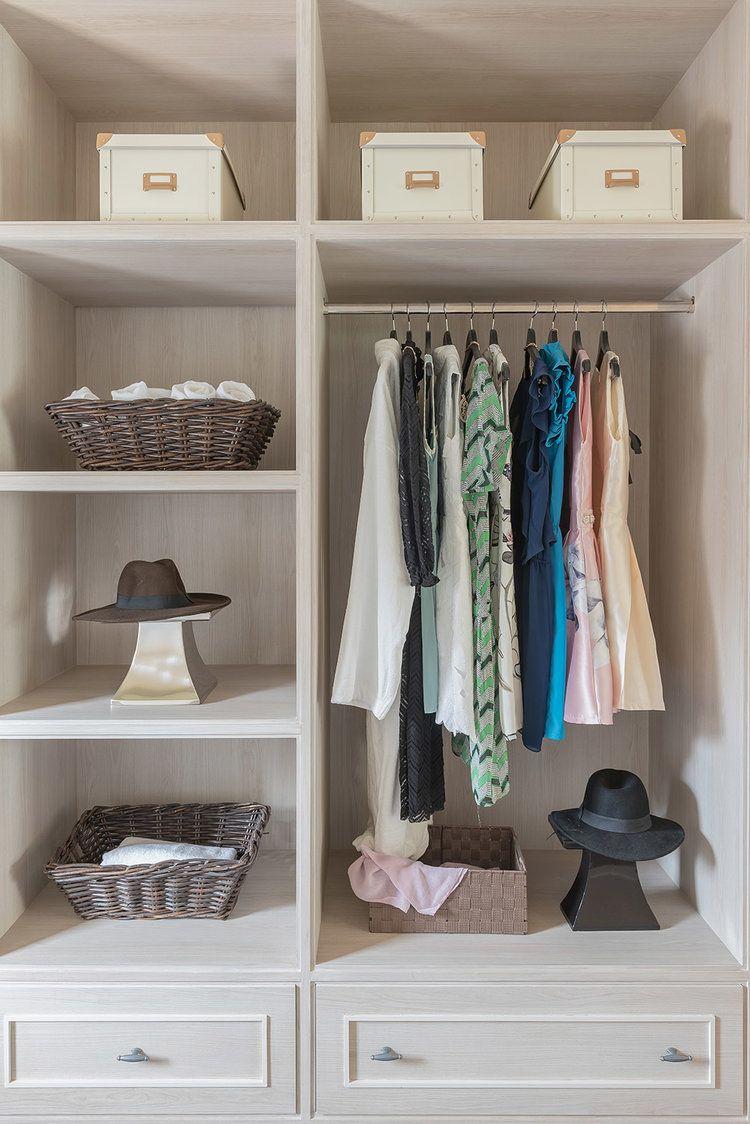 +30 Ideas De Closets De Madera | Sencillos Y Grandes