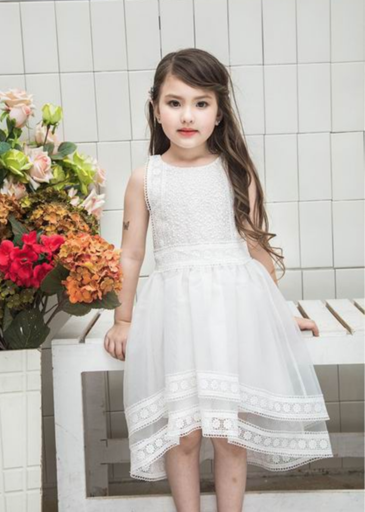 The Ainsley Lace White Vintage Girl Inspired Lace Dress Angora Boutique Flower Girl Dress Lace Flower Girl Dresses Lace Dress