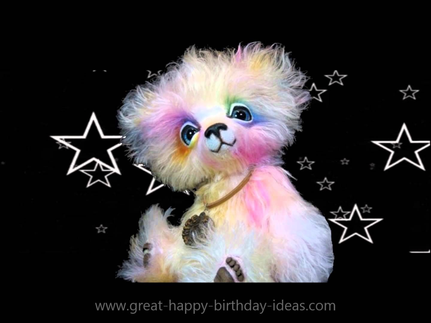 Aurora sings happy birthday from the white forest bear collection send this real cute happy birthday ecard to wish friends and family an extra happy birthday aurora from the white forest bear collection sings a birthday bookmarktalkfo Image collections