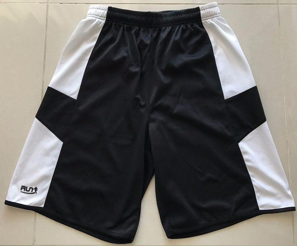 Mens basketball shorts on sale free shipping - Men S Run Black White Training Gym Workout Basketball Shorts S Free Shipping Run Shorts