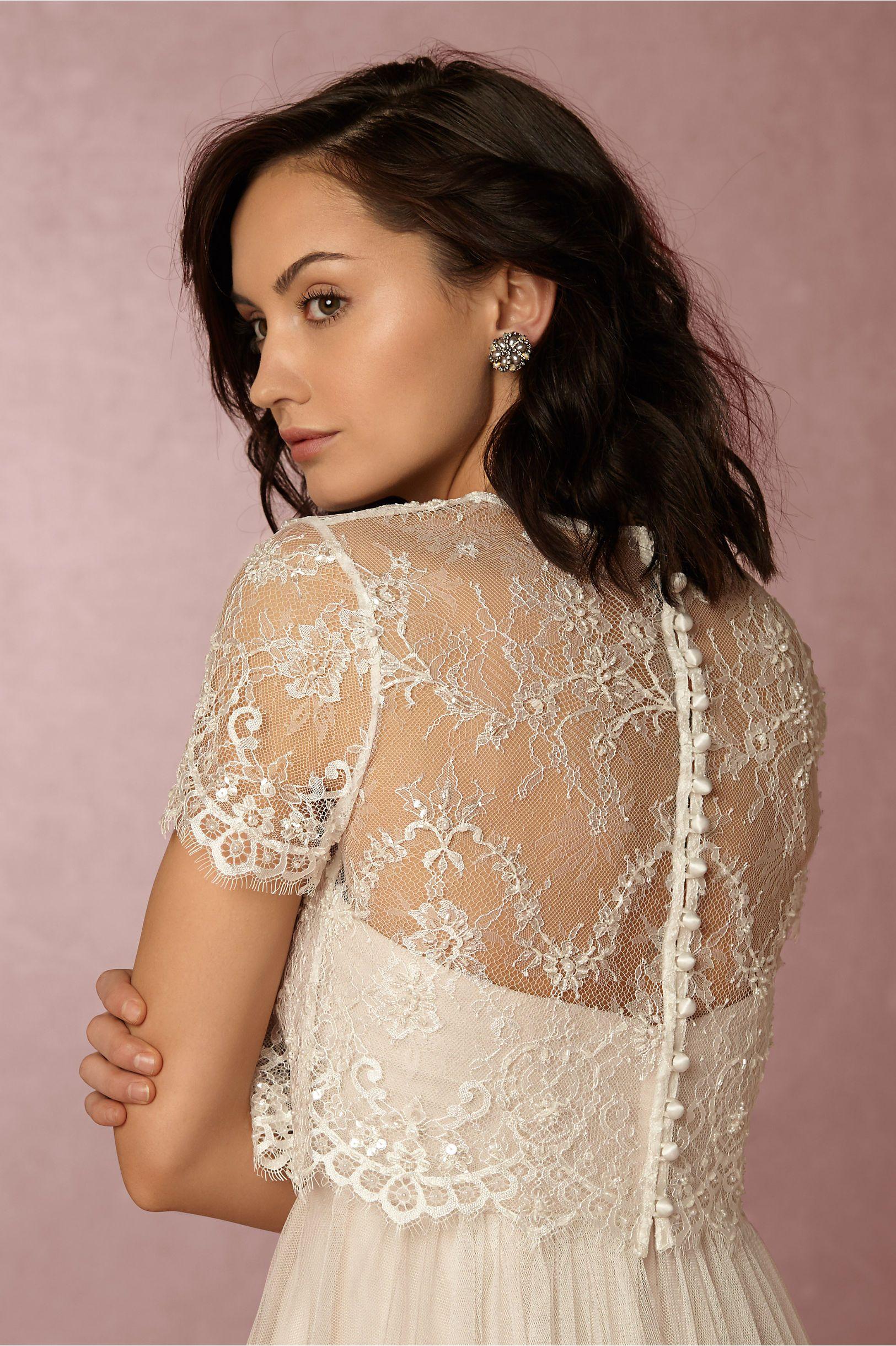 9b7af3aab2 Bridal Separates from BHLDN Wedding Wedding dress topper