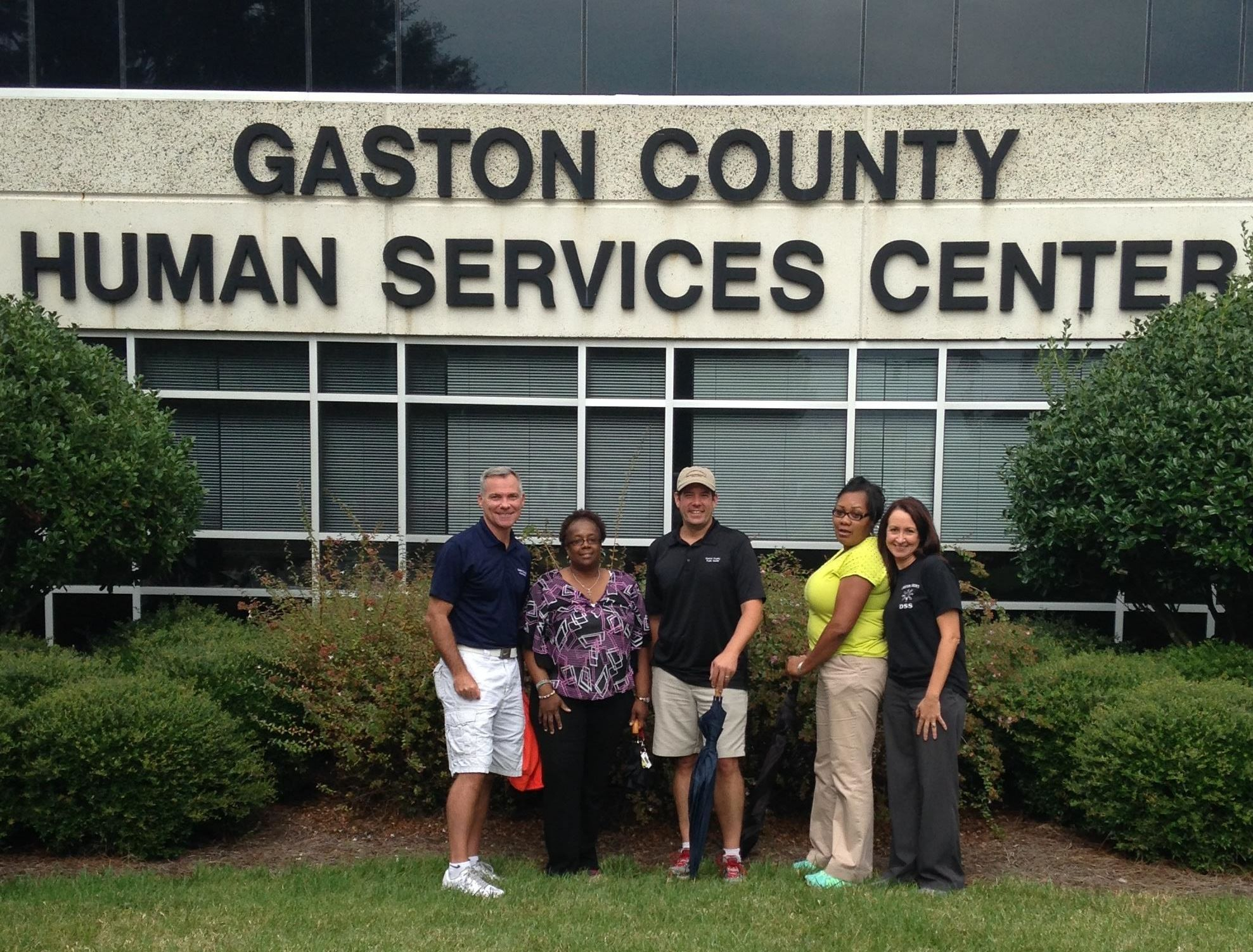 Group of Gaston County Dept. of Health and Human Services
