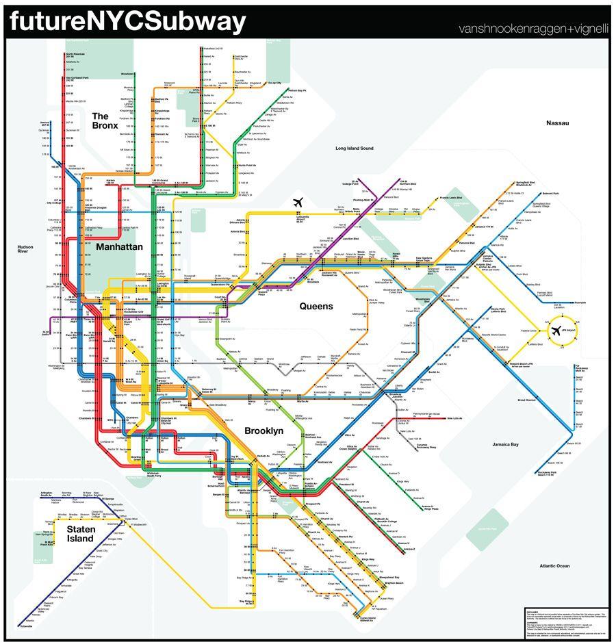 FutureNYCSubway V PDF Wwwvanshnookenraggencom New York City - Nyc flood zone map pdf