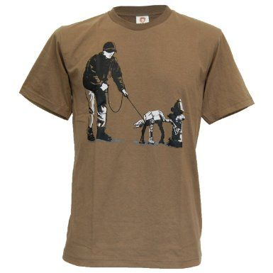 Amazon.com: SODAtees funny AT-AT Imperial Walker Star Wars Men's T-Shirt: Clothing