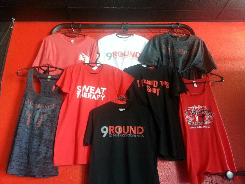 9round T Shirts And T Tops Get Skinny Workout Programs Tops