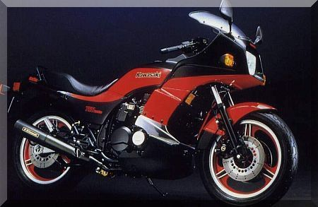 1984 Kawasaki GPz 750 turbo