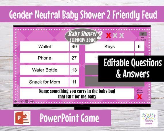 Virtual Game Gender Neutral Baby Battle 2  Editable   Etsy