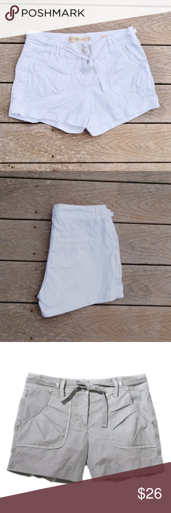 J. Crew Mini-ripstop Short 100% cotton | chino classic Twill ▪️This item is in perfect condition with no evidence of wear, stains or rips▪️ J. Crew Shorts Cargos