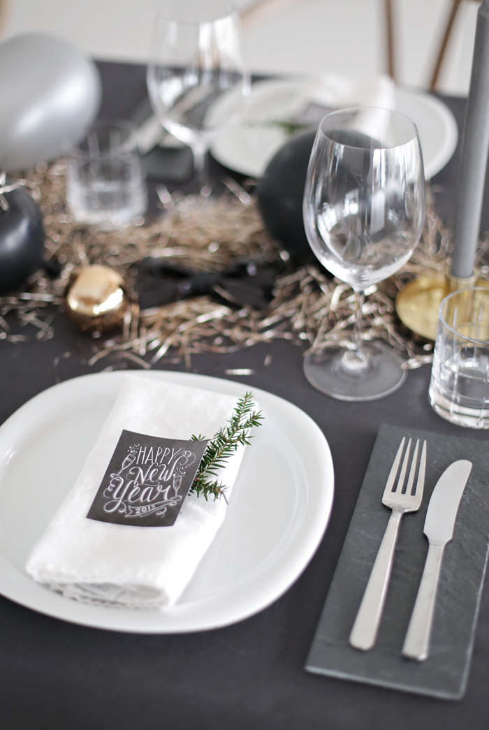 Get a Luxury Table Setting for New Year\'s Eve | Table settings ...