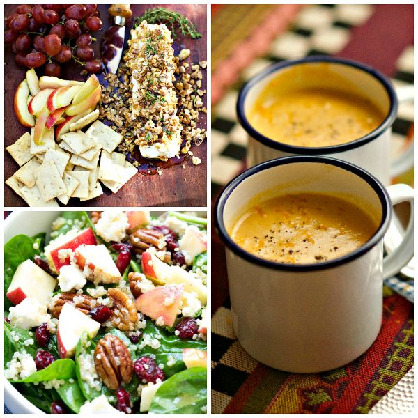 fall harvest dinner party menu ideas