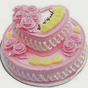 Awesome Pin By Aradhana Singhal On Cakes Tiered Cakes Two Tier Cake Birthday Cards Printable Nowaargucafe Filternl
