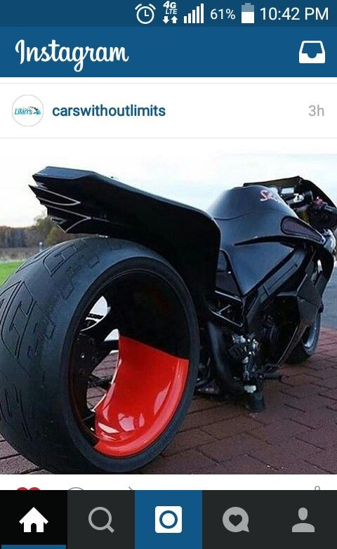 This bike is hot