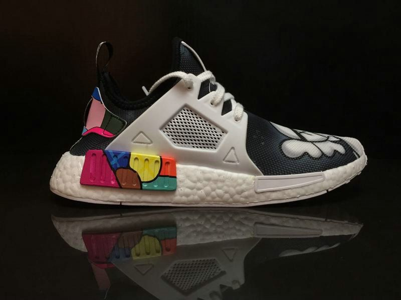 check out 0e174 0ac14 Where To Buy 2018 Men KAWS x Adidas NMD XR1 Colorful Boost Black-White  BY9950