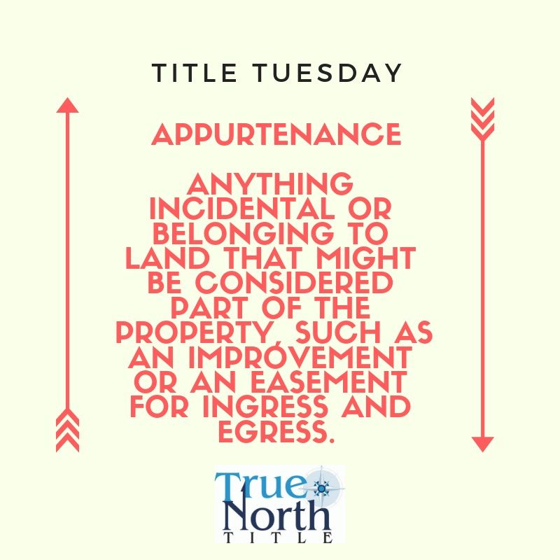 Happy title tuesday title insurance title true north