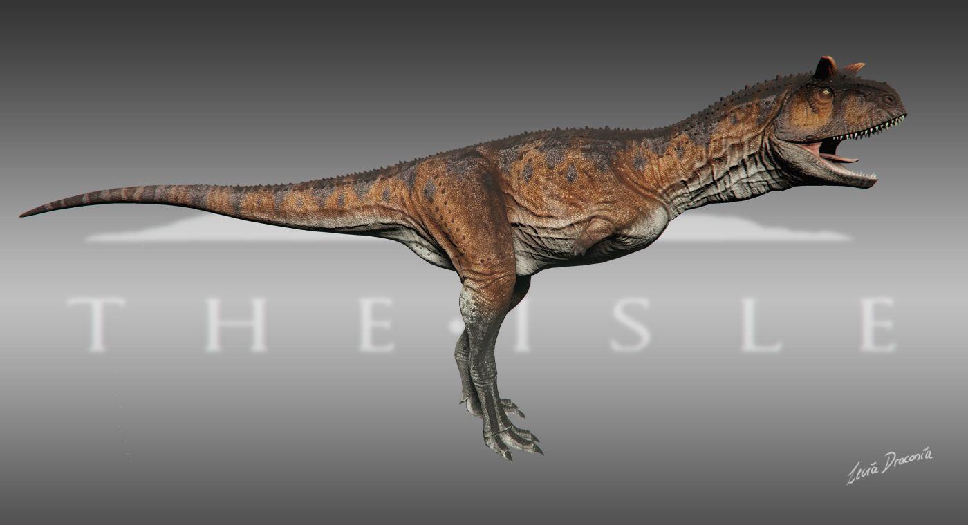 Jurassic park card 3 by chicagocubsfan24 on deviantart - The Isle Carnotaurus Skin 1 Red Desert By Leviadraconia Deviantart Com