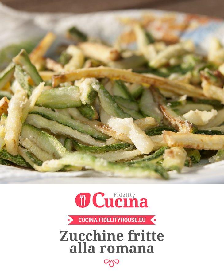 Ricetta zucchine fritte alla romana cucina antipasto and food - Antipasti cucina romana ...