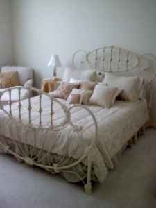 Antique Iron Beds For Sale Antique White Iron Brass Queen Bed