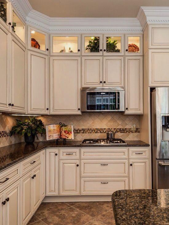 Pics Of Kitchen Cabinet Color Ideas Pinterest And Hoosier Kitchen Cabinet Wiki Cabinet Antique White Kitchen Antique White Kitchen Cabinets Kitchen Renovation