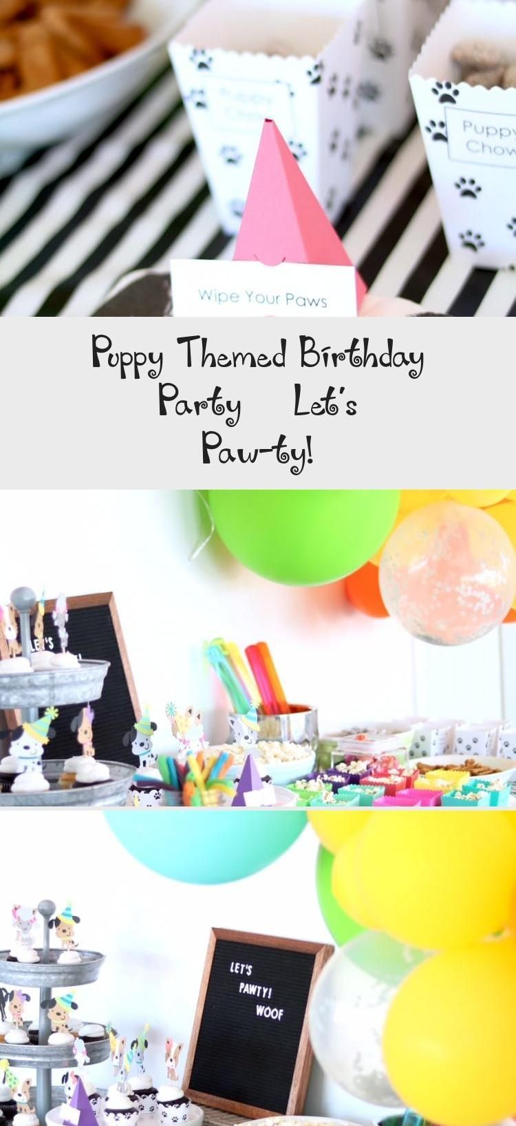 Lets Pawty Puppy Themed Birthday Party Inspiration  Dog Party  Kids Birthda Lets Pawty Puppy Themed Birthday Party Inspiration  Dog Party  Kids Birthday Party Ideas  Birt...
