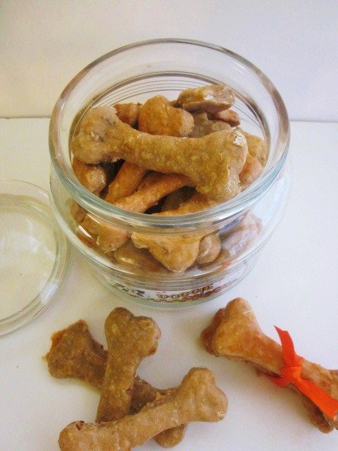 peanut butter dog snacks