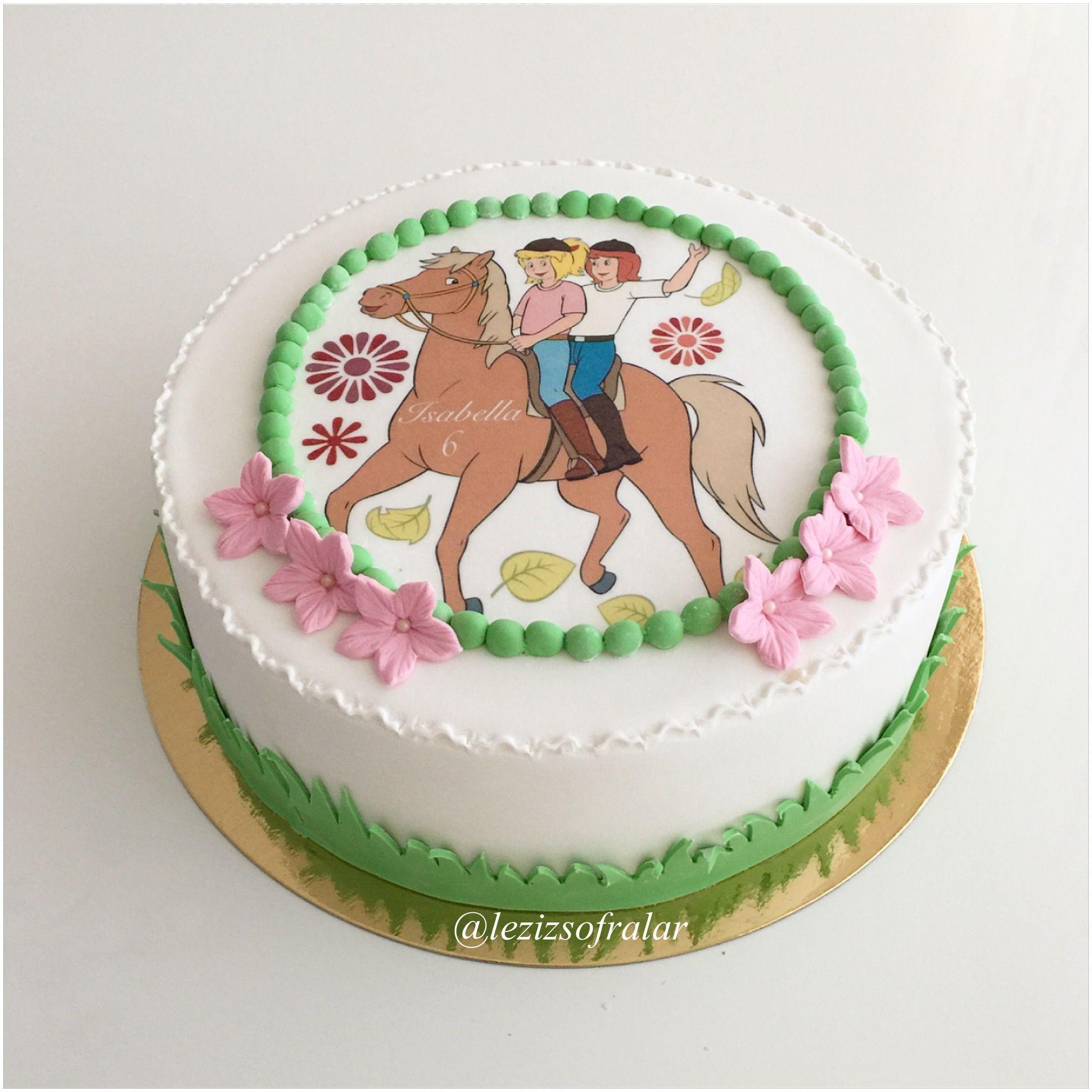 Bibi Tina Pastasi Bibi Und Tina Torte Torte Kindergeburtstag Kindergeburtstag Essen Suss