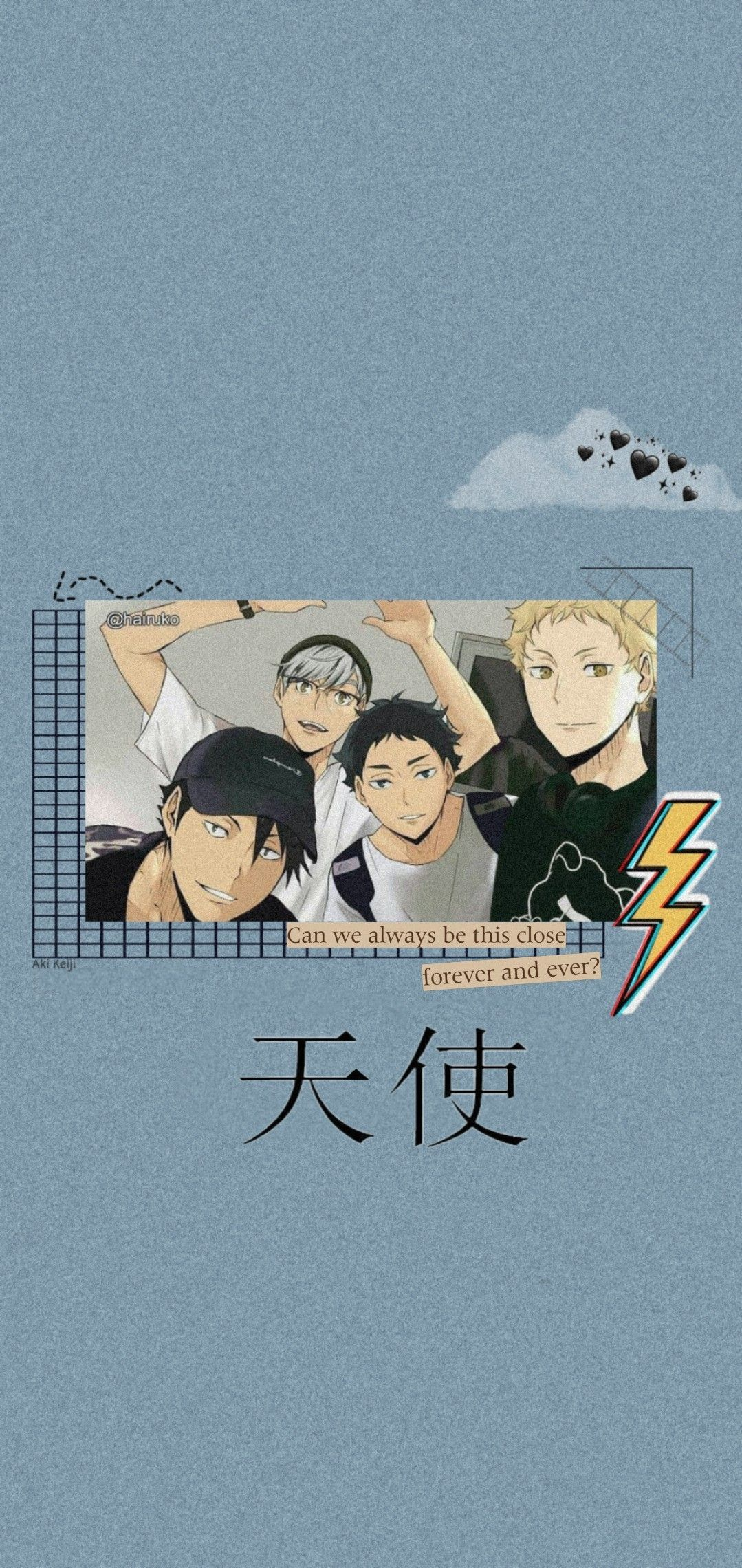 haikyuu wallpaper haikyuu anime cute