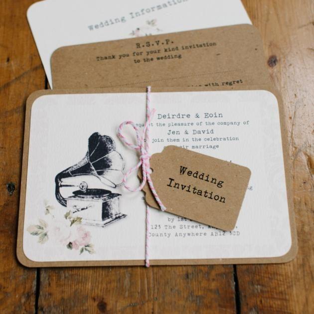 Partecipazioni Matrimonio Vintage Con Il Grammofono Partecipazionipermatrimonio Com Blog Matrimonio Vintage Partecipazioni Nozze Partecipazione