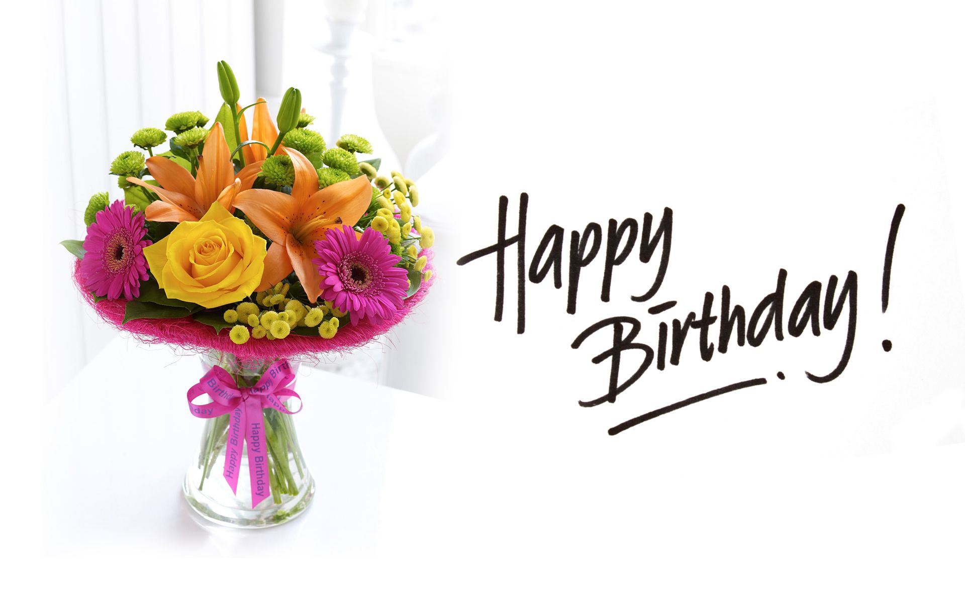 Happy birthday flowers images pictures and wallpapers happy happy birthday flowers images pictures and wallpapers izmirmasajfo