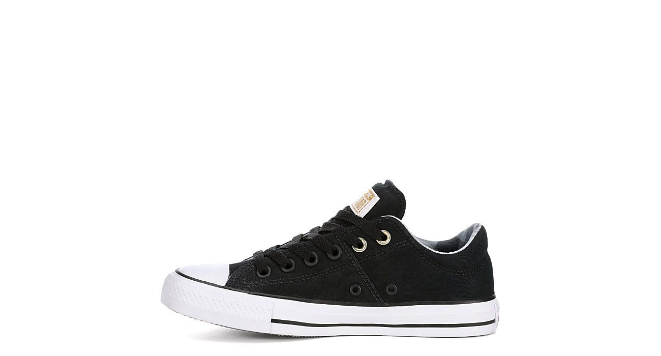 Converse Womens Madison Ox Plaid Black in 2019   Shoes