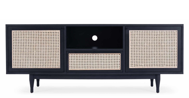 Meuble Tv Design Cannage De Rotin Bois Noir Nv Gallery Lincoln Nv Gallery