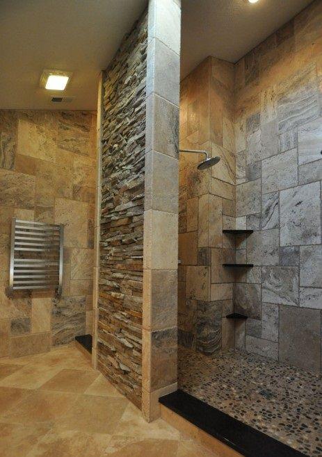 All Natural Stone Bathroom Design Ideas Minimalist Home Design