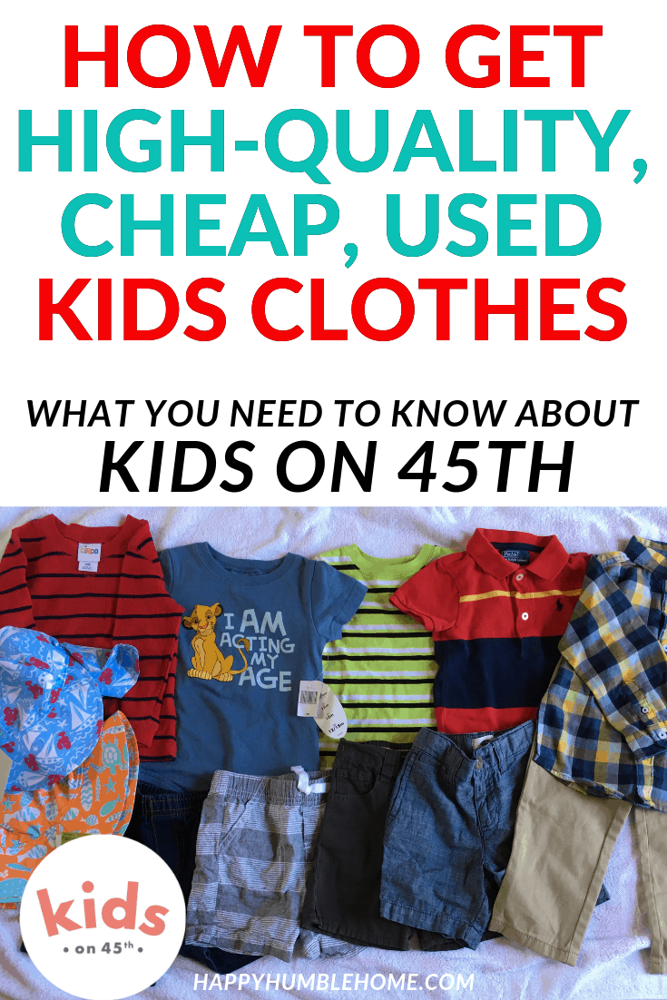 How To Get High Quality Cheap Used Kids Clothes Happy Humble Home Money Saving Plan Money Management Printables Budgeting Money