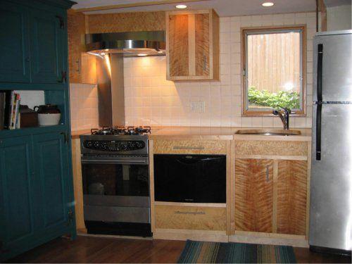 Ideen für kleine Küche - Fliesenspiegel Küchen Pinterest