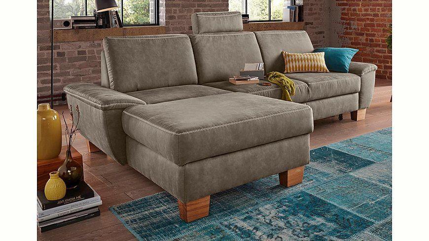 Gala Colezzione Polsterecke, wahlweise mit Bettfunktion Jetzt - gemütliches sofa wohnzimmer