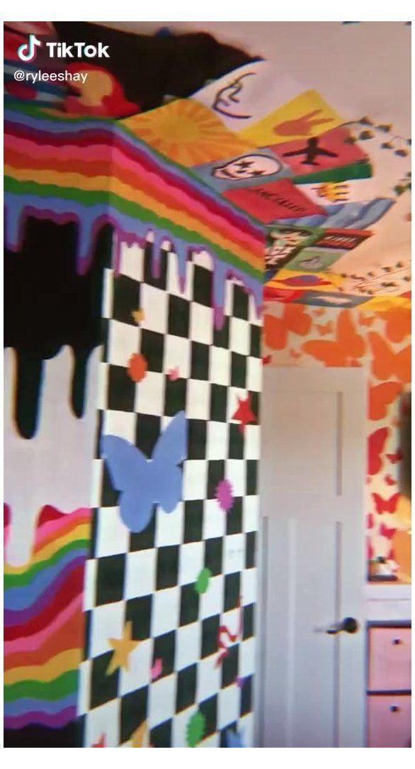 Triply Art Aesthetic Bedroom Room Wall Art Bedroom Paint Aesthetic Wallartbedroompaintaesthetic In 2021 Indie Room Decor Room Wall Painting Wall Painting