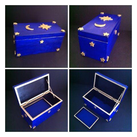 27++ Moon and stars jewelry box viral