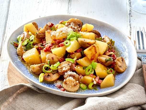 Photo of Mushroom and Potato Pan Recipe | DELICIOUS