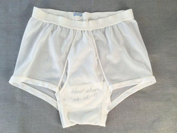 3dd1b5d70b66 Vintage 1950's Men's Briefs Men's Nylon Underwear by idcmasculine Etsy  Shop, Nylon Underwear, Gym