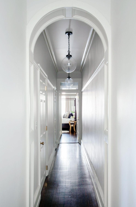 A Centuries Old Home Gets Some Serious Love Lark Linen Bloglovin Entryway Lighting Hallway Pendant Lighting Edwardian Hallway